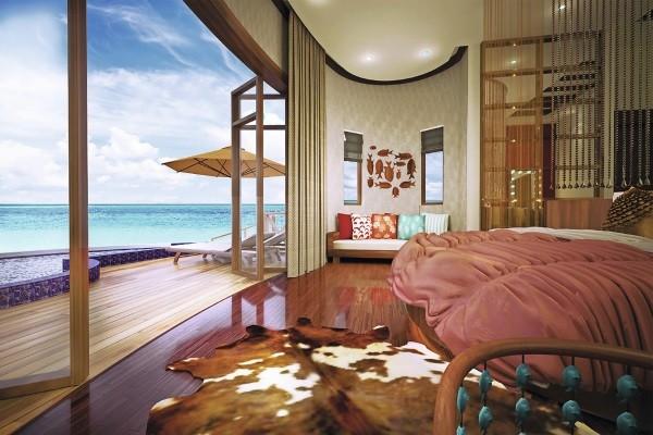 Chambre - Hôtel Oblu Select at Sangeli 4* Male Maldives