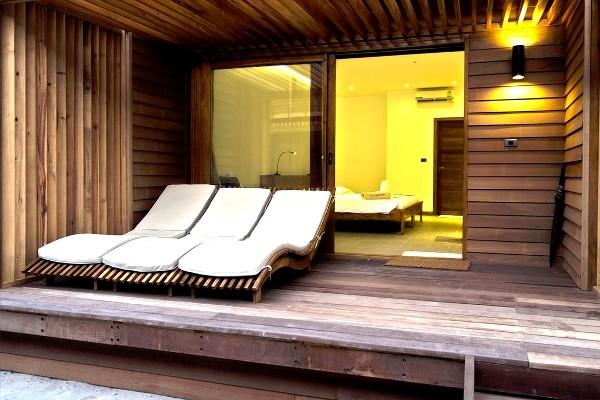Chambre - Hôtel The Barefoot Eco Hotel 4* Male Maldives