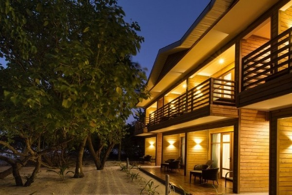 Facade - Hôtel Pearl Sands of Maldives 4* Male Maldives