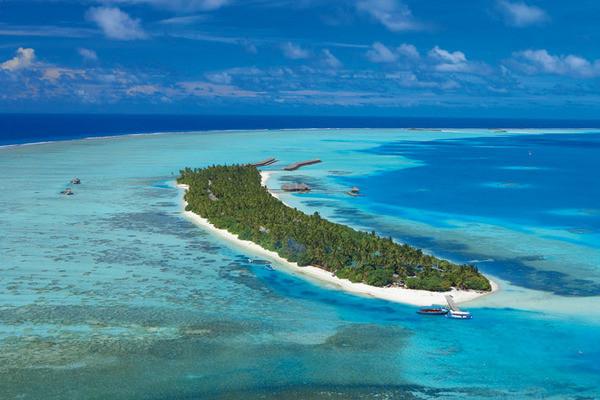 Geographie - Hôtel Medhufushi Island Resort 4* Male Maldives