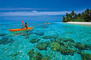 Maldives-Male, Hôtel The Barefoot Eco Hotel