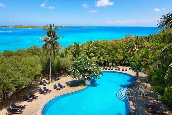 Piscine - Hôtel Cinnamon Dhonveli Maldives 4* Male Maldives