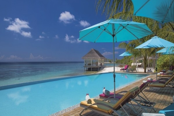 Piscine - Hôtel Club Jet tours confidentiel Helengeli 4* Male Maldives