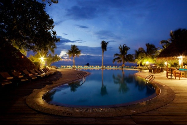 Piscine - Hôtel Coco Palm Dhuni Kolhu 4* Male Maldives