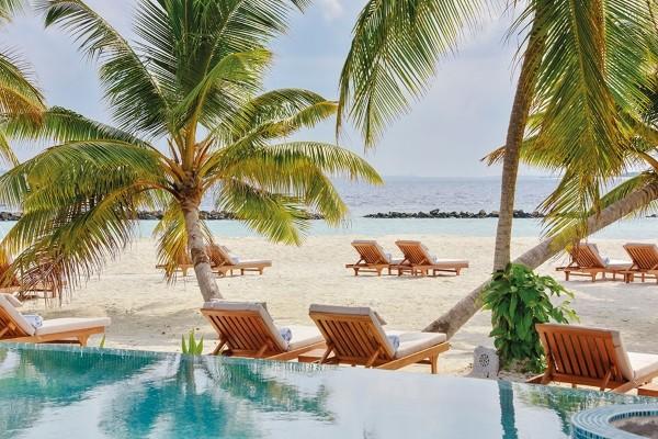 Piscine - Hôtel Dhigali 5* Male Maldives