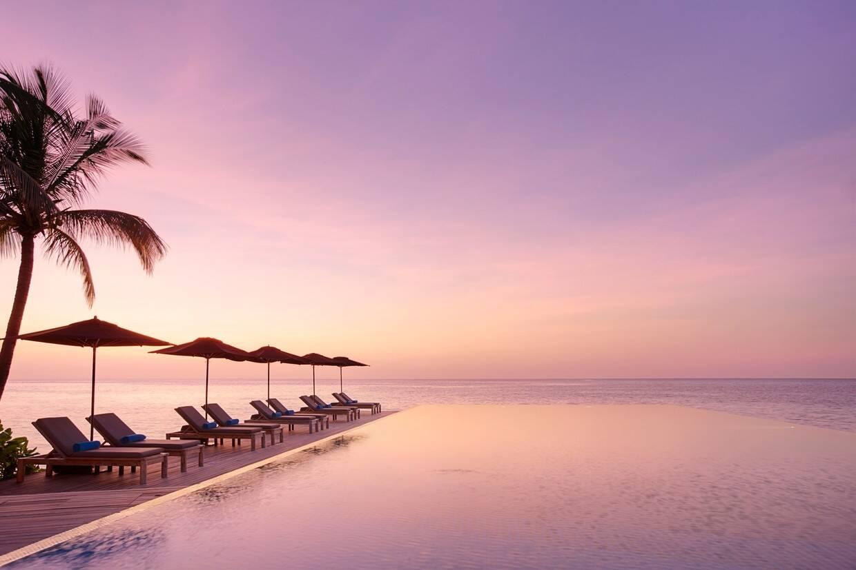 Piscine - LUX* South Ari Atoll 5* Male Maldives