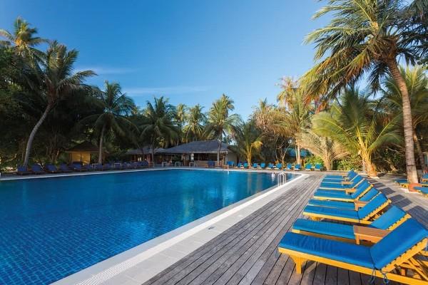 Piscine - Hôtel Meeru Island Resort & Spa 5* Male Maldives