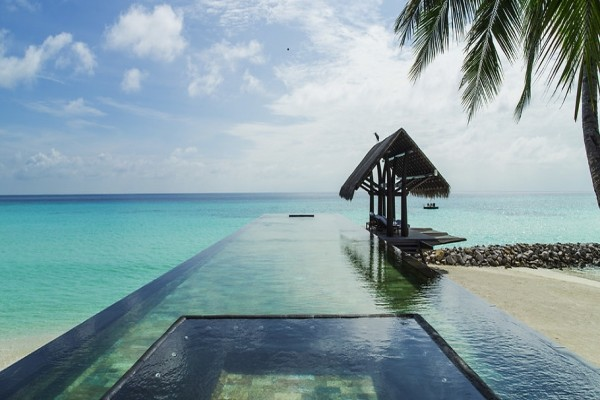 Piscine - Hôtel One&Only Reethi Rah 5* Male Maldives