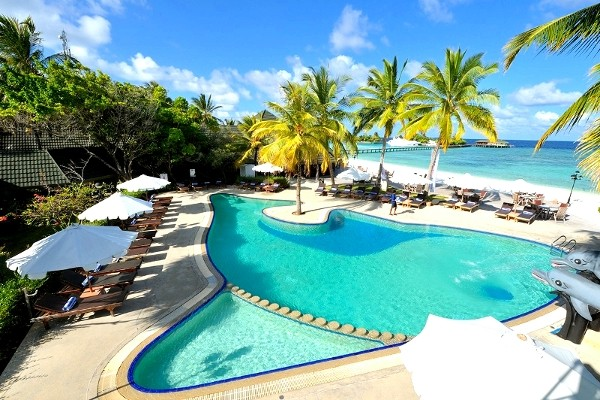 Piscine - Paradise Island Resort & Spa 5* Male Maldives