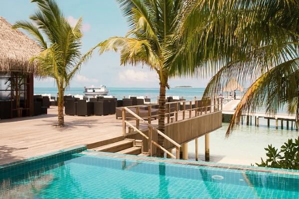 Piscine - Hôtel Smartline Eriyadu 3* Male Maldives