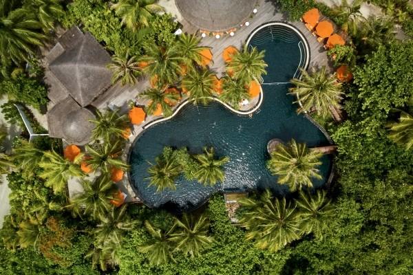 Piscine - The Sun Siyam Iru Fushi 5* Male Maldives
