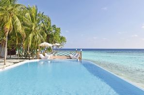 Maldives-Male, Hôtel Thulhagiri Island Resort & Spa