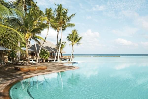 Piscine - Hôtel Veligandu Island Resort & Spa 5* Male Maldives