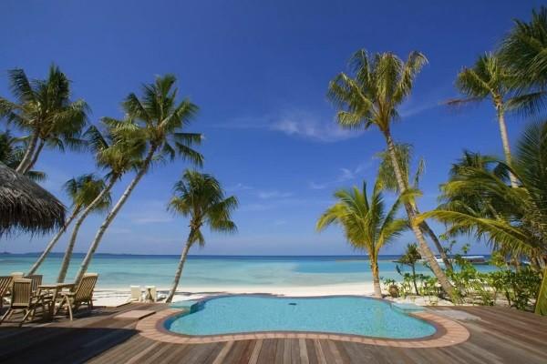 Piscine - Hôtel Veligandu Island Resort & Spa 4* Male Maldives