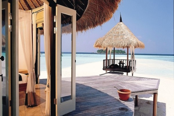 Plage - Hôtel Banyan Tree Vabbinfaru 5* Male Maldives