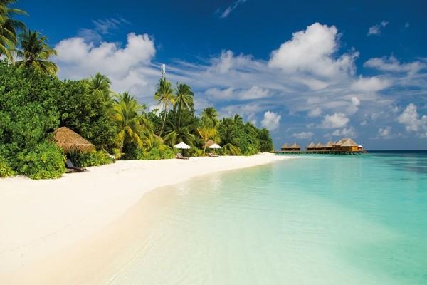 Plage - Hôtel Mirihi Island Resort 5* Male Maldives