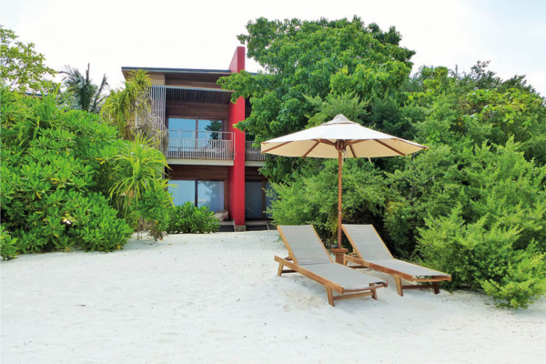 Plage - Hôtel The Barefoot Eco Hotel 3* Male Maldives
