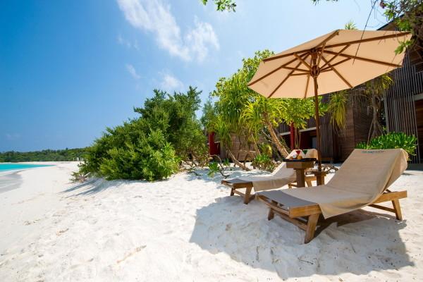 Plage - Hôtel The Barefoot Eco Hotel 4* Male Maldives