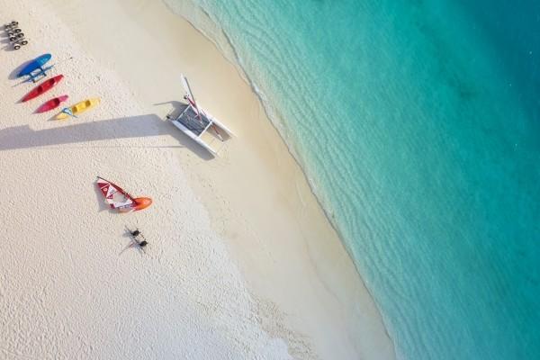 Plage - The Sun Siyam Iru Fushi 5* Male Maldives