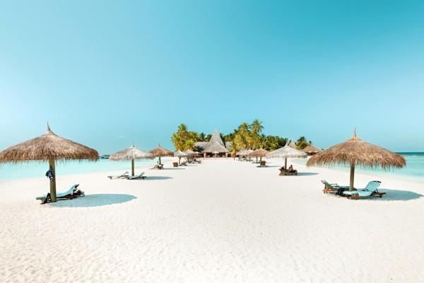 Plage - Hôtel Veligandu Island Resort & Spa 5* Male Maldives