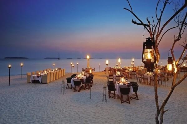 Restaurant - Hôtel Anantarah Kihavah Villas 5* Male Maldives