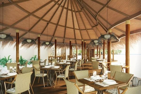 Restaurant - Hôtel Drift Thelu Veliga Retreat 5* Male Maldives