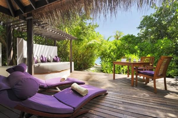 Terrasse - Hôtel Coco Palm Bodu Hithi 5* Male Maldives