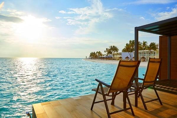 Terrasse - Hôtel Riu Palace Maldivas 5* Male Maldives