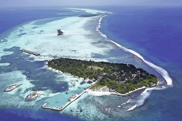 Vue panoramique - Hôtel Adaaran Select Hudhuranfushi 4* Male Maldives