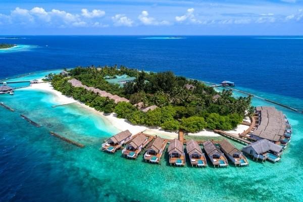 Vue panoramique - Hôtel Amaya Kuda Rah 5* Male Maldives