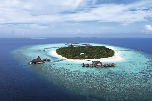 Vue panoramique - Hôtel Anantarah Kihavah Villas 5* Male Maldives