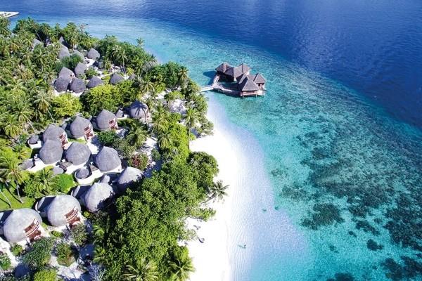 Vue panoramique - Hôtel Bandos Maldives 4* Male Maldives