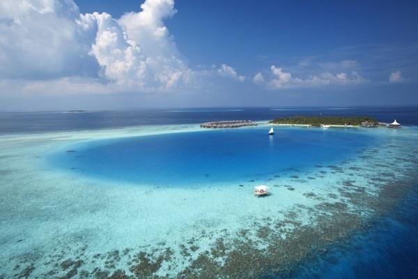 Vue panoramique - Hôtel Baros Maldives 5* Male Maldives