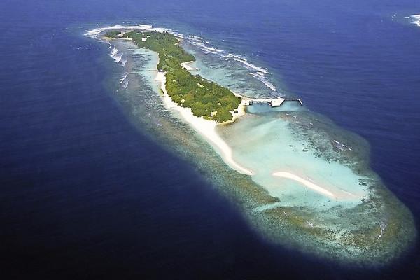 Vue panoramique - Hôtel Club Jet tours confidentiel Helengeli 4* Male Maldives