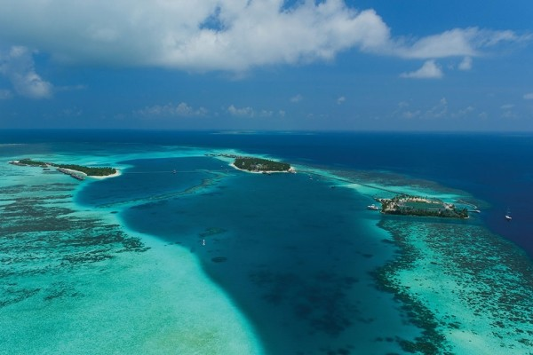 Vue panoramique - Hôtel Conrad Maldives Rangali Island 5*
