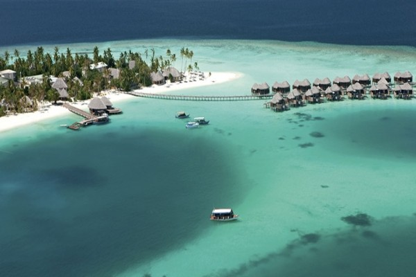 Vue panoramique - Hôtel Constance Halaveli Resort 5* Male Maldives