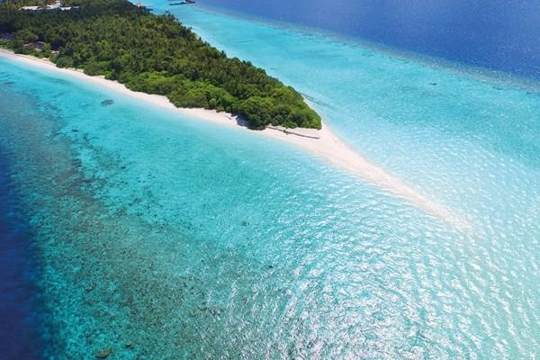 Vue panoramique - Hôtel Dhigali 5* Male Maldives
