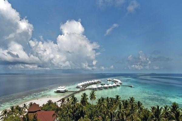 Vue panoramique - Hôtel Diamonds Athuruga Maldives 4* Male Maldives