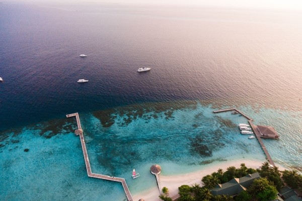 Vue panoramique - Eriyadu Island Resort
