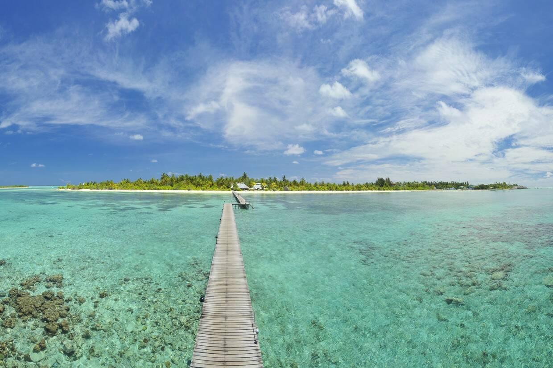 Vue panoramique - Hôtel Fun Island Resort & Spa 3* Male Maldives