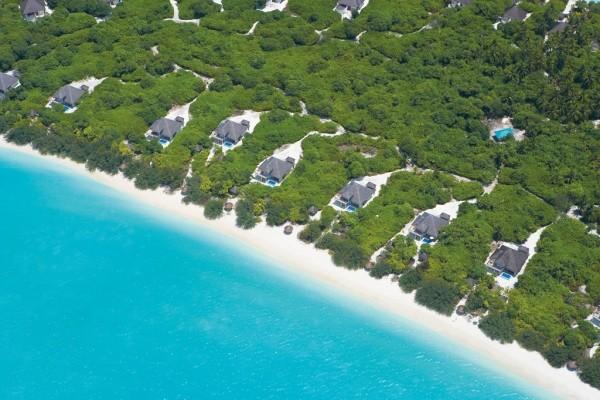 Vue panoramique - Hôtel Hideaway Beach Resort & Spa 5* Male Maldives