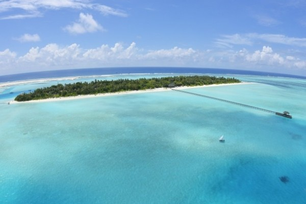 Vue panoramique - Holiday Island Resort & Spa 4* Male Maldives