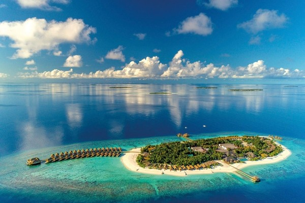 Vue panoramique - Kudafushi Resort & Spa