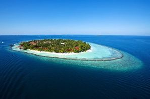 Maldives-Male, Hôtel Kurumba Maldives