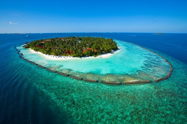 Vue panoramique - Hôtel Kurumba Maldives 5* Male Maldives