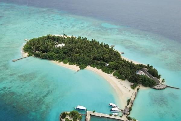 Vue panoramique - Hôtel Makunudu Island 3* Male Maldives