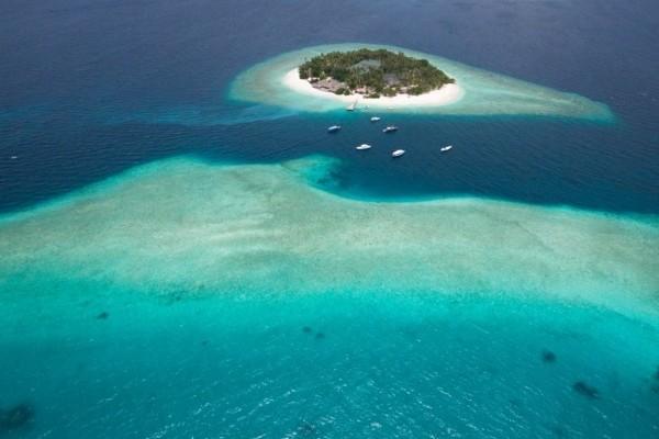 Vue panoramique - Hôtel Malahini Kuda Bandos Resort 4* Male Maldives