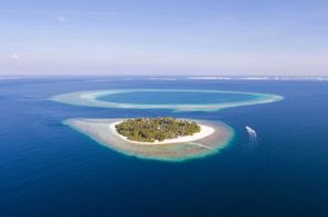 Maldives-Male, Hôtel Malahini Kuda Bandos Resort