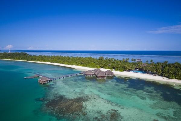 Vue panoramique - Medhufushi Island Resort 4* Male Maldives