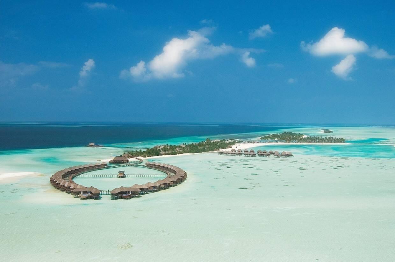 Vue panoramique - Olhuveli Beach & Spa 4* Male Maldives